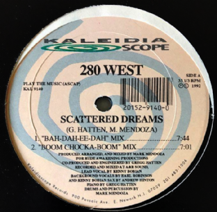 "280 West ‎- Scattered Dreams (12"") (VG/G+)"